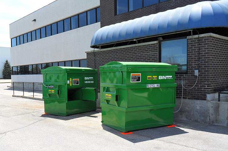 Recycling options for cardboard and mixred recyclables