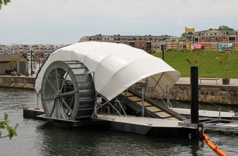 Mr. Trash Wheel: Using natural forces to clean Baltimore's waters