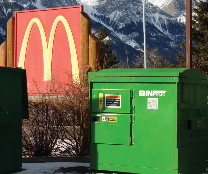McDonalds Canmore cleaned
